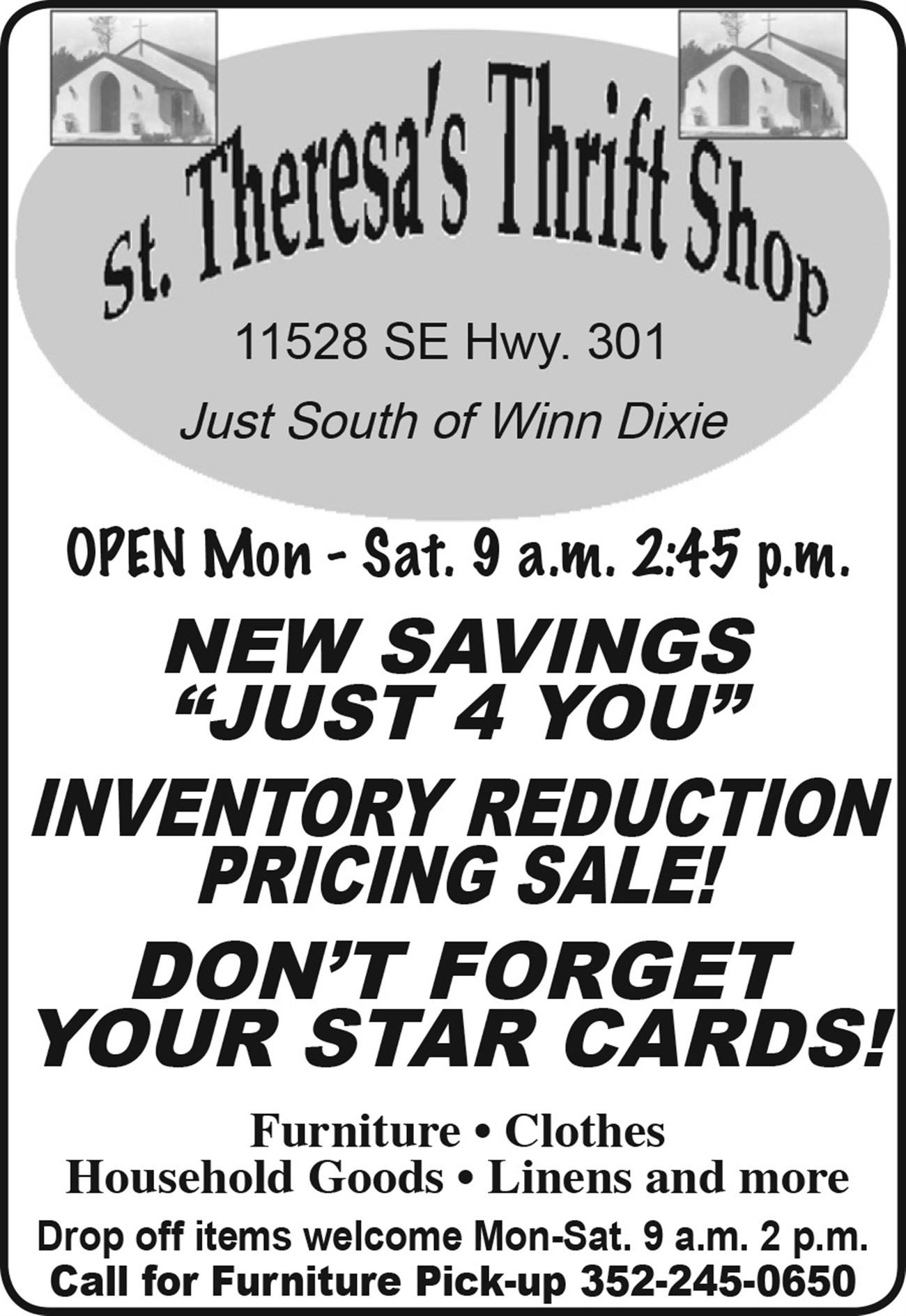 St, Theresa\'s Thrift Shop