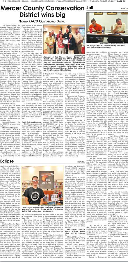 Harrodsburg Herald 8-17-17 To get started First tap on any page