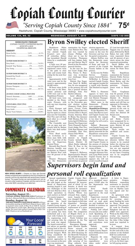 Copiah County Courier – The Official Voice of Copiah County